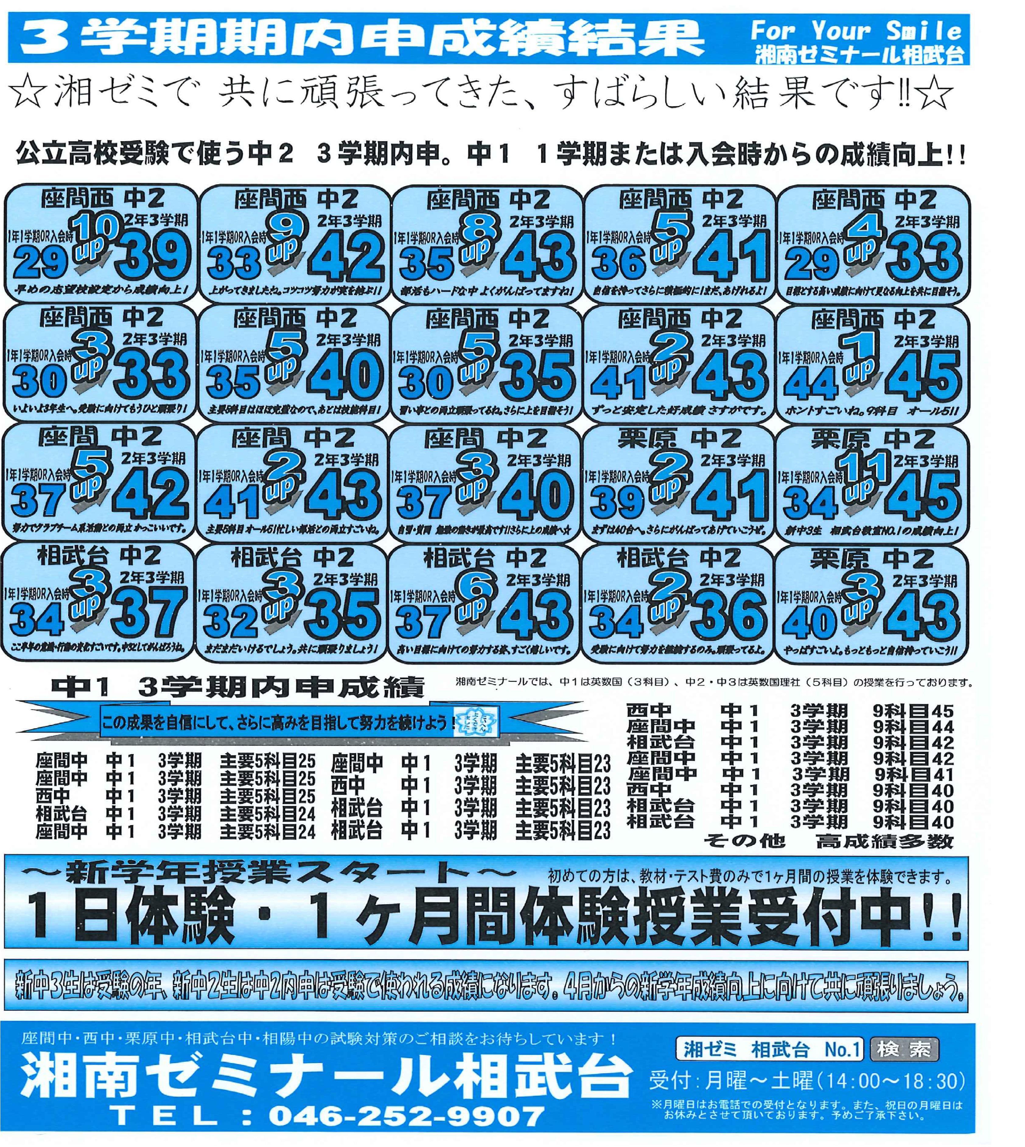 相武台 2018-2019 3学期 中1・中2内申成績向上  .jpg