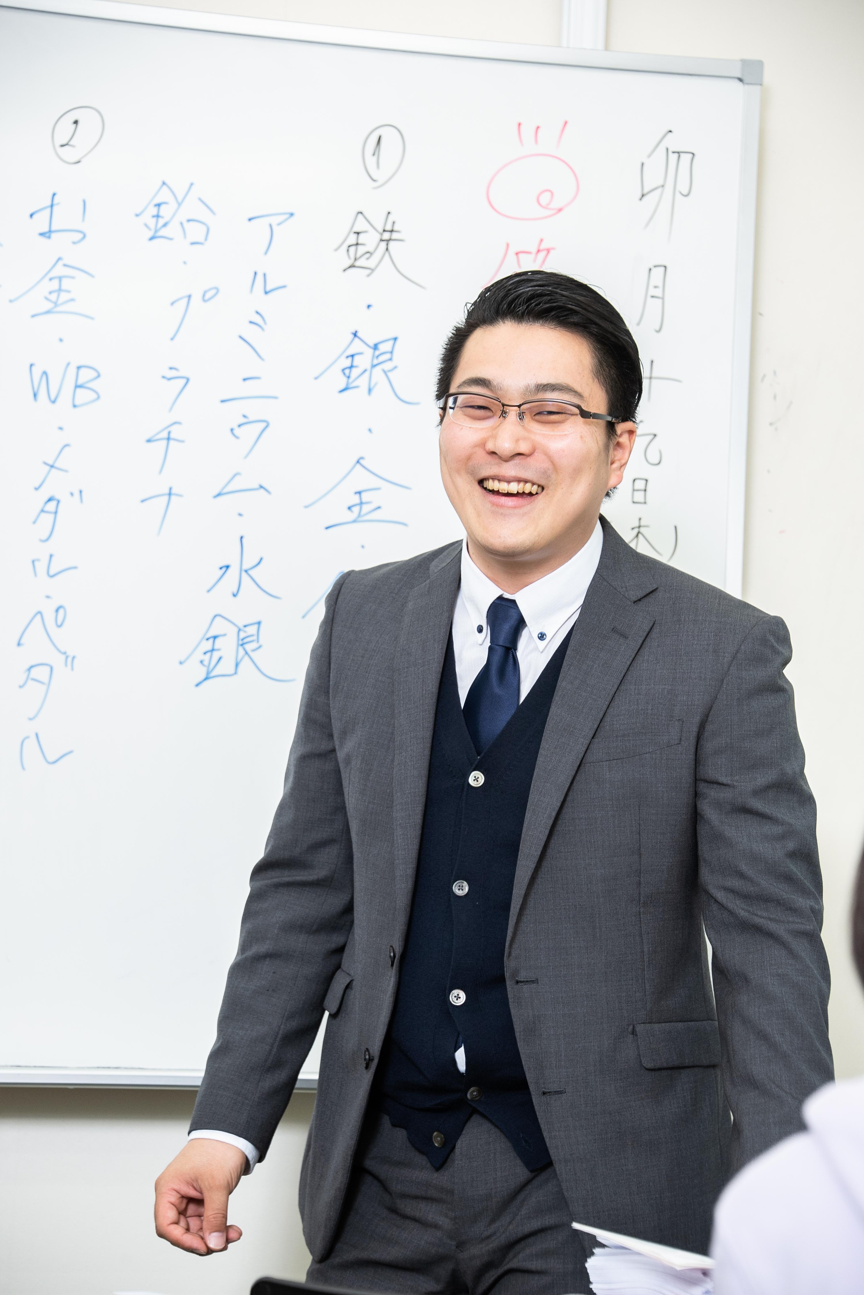 教室長 渡辺壮一